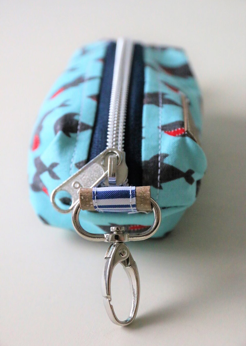 Key Case Bag Tutorial