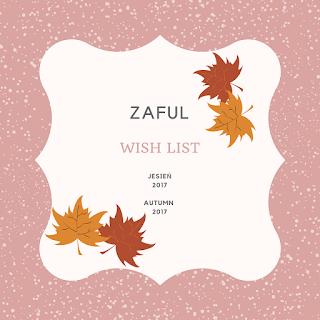 Jesienna Wish Lista Zaful