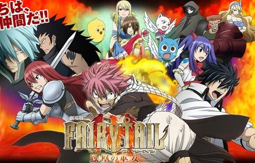 Fairy Tail The Movie – Houou no Miko BD (Sub Indonesia)