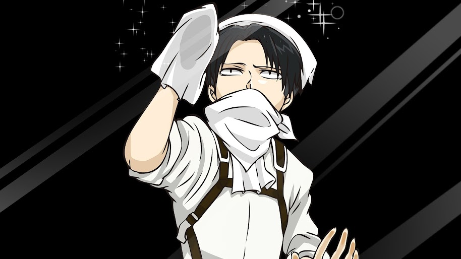 Levi Cleaning Attack On Titan 4k Wallpaper 142