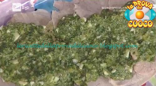 Girello di vitello al verde ricetta Persegani da Prova del Cuoco