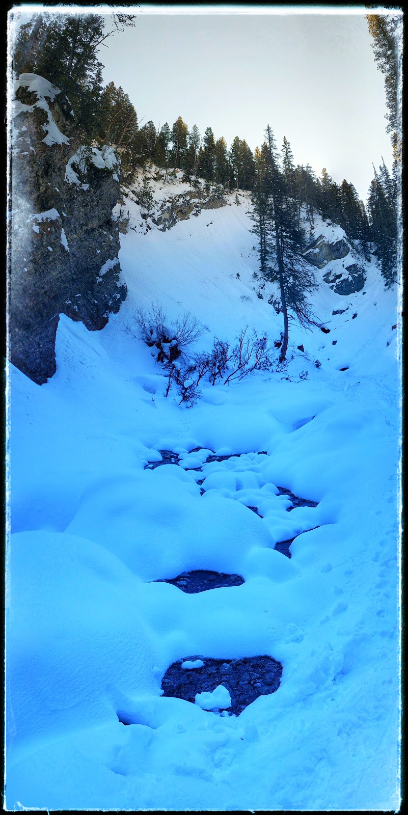 Donut Falls Big Cottonwood Canyon Utah in 360 Degrees