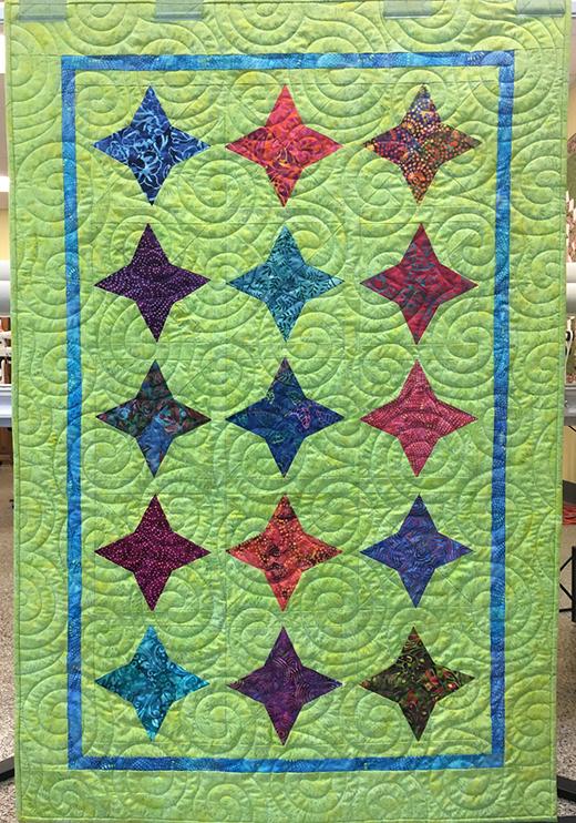 Daystar Quilt Free Pattern