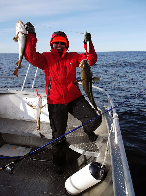 аренда снастей для морской рыбалки в норвегии