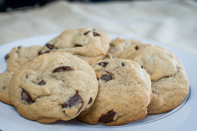 Classic Chocolate Chip Cookies Recipe by The Dotted Nest www.thedottednest.com