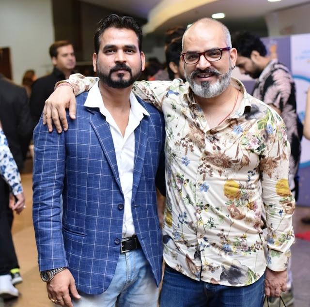Sanjay Nigam With Sadan Pandey