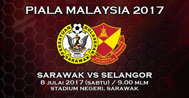 Live Streaming Sarawak vs Selangor