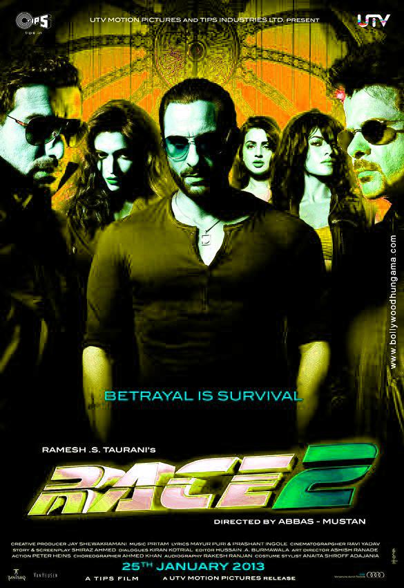 Race 2 Movie Latest Posters - Cinema65.com