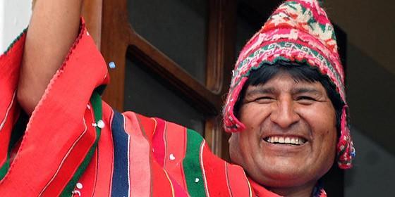 Evo Morales Ayma, presidente de La República de Bolivia