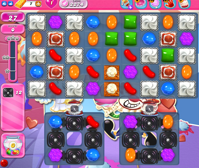 Candy Crush Saga level 2274