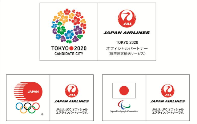 JAL supports Tokyo's bid for the 2020 Olympics & Paralympics