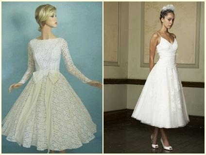 quality design 6bc92 c7779 Abiti da sposa corti stile anni 60 – Vestiti da cerimonia