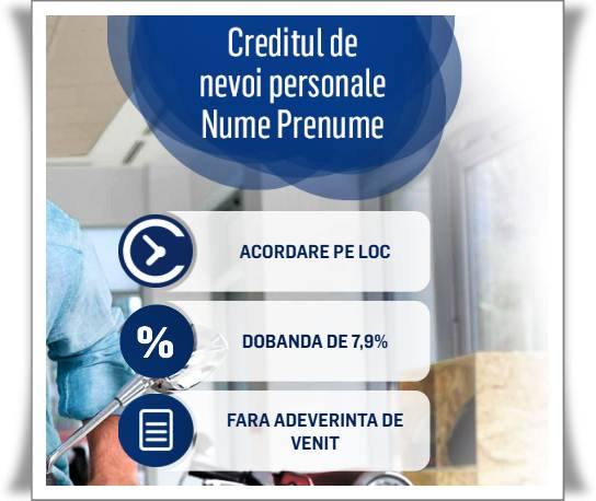 Dobanda credit nevoi personale bcr