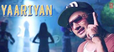honey singh song in yaarian movie