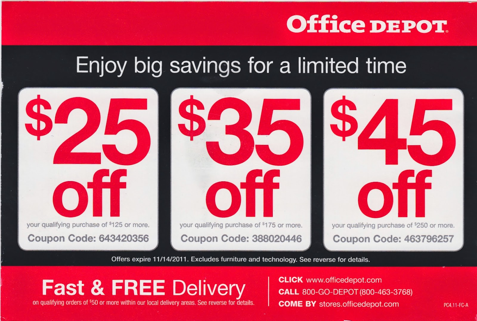 Find The Best Office Depot Promo Codes Coupons Deals And S For November 2017