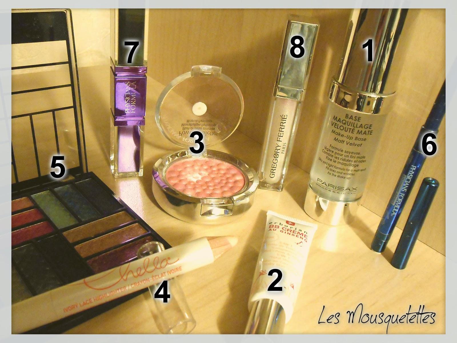 Makeup utilisé : Bys, Physicians Formula,  Parisax, Erborian, Chella - Les Mousquetettes©