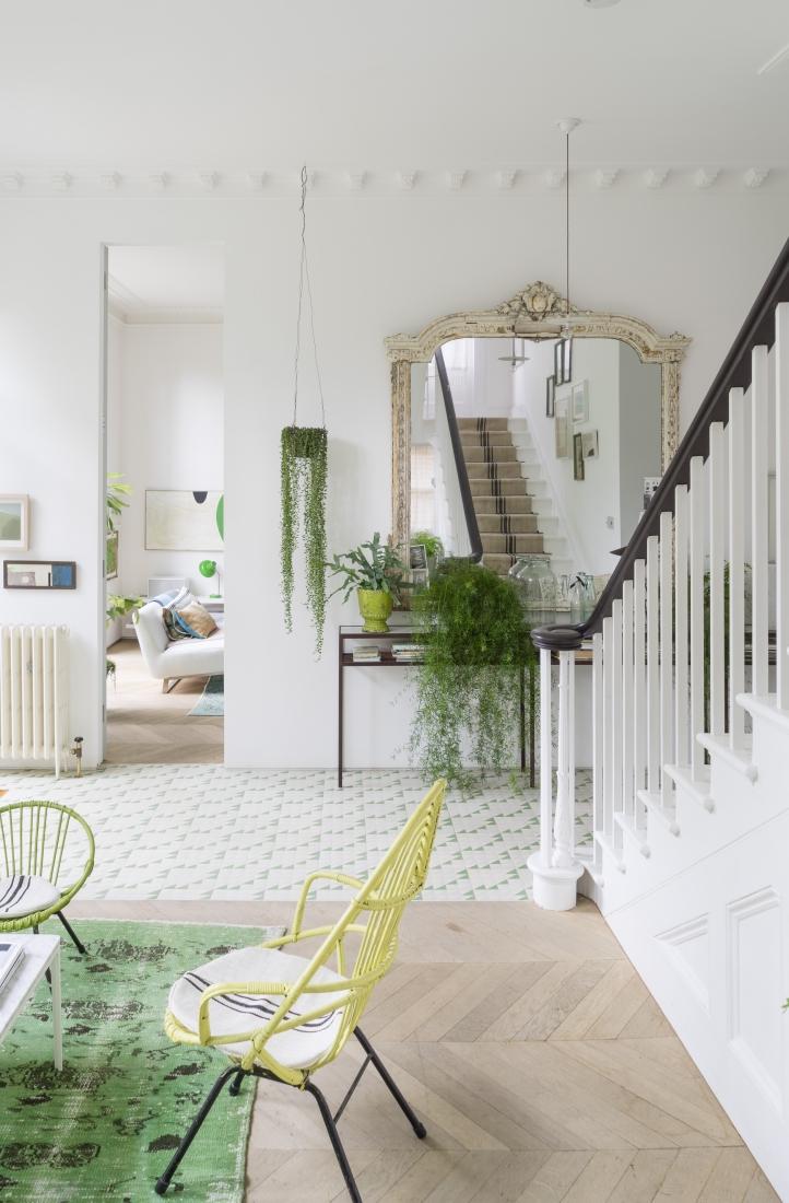 Art et v g tal dans une maison anglaise for Art et maison figeac