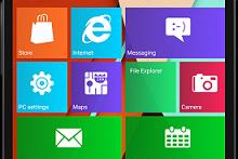 Install Launcher Windows 10 untuk Android (Tanpa Root)