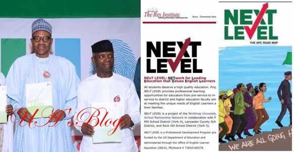 President Buhari accused of stealing 'Next level' plan from Rex Institute