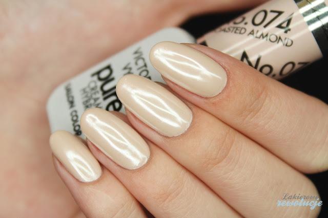Victoria Vynn Pure 074 + srebrny perłowy pyłek