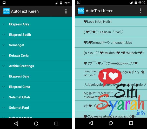setting autoteks android