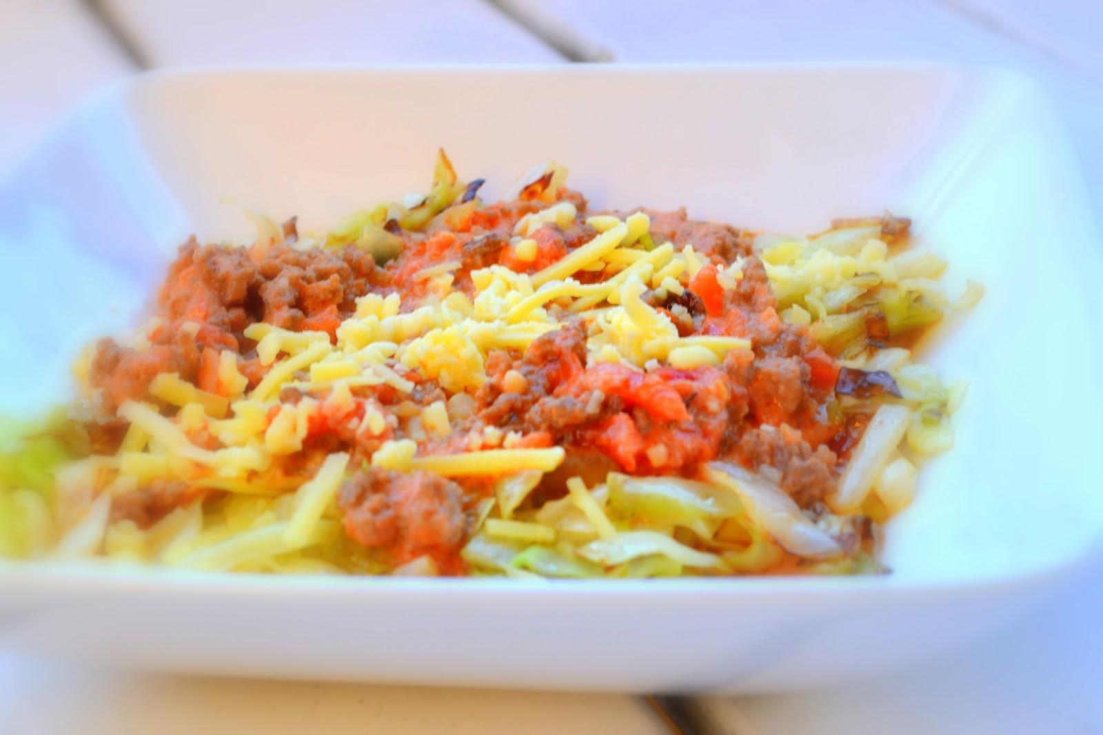 istället för pasta till köttfärssås