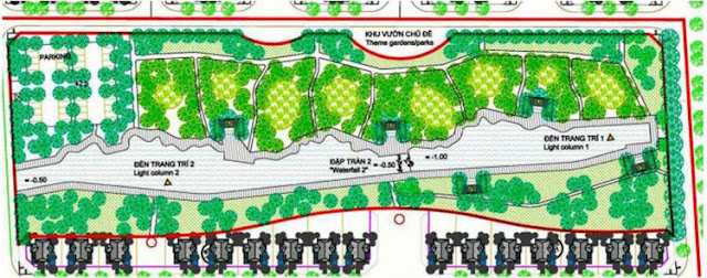 Công viên nghỉ ngơi giải trí khu đô thị sinh thái Xuân Phương