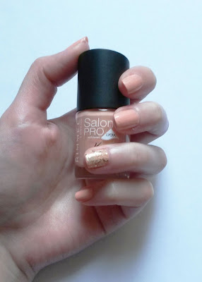Goddess, Salon Pro Lycra Rimmel swatch