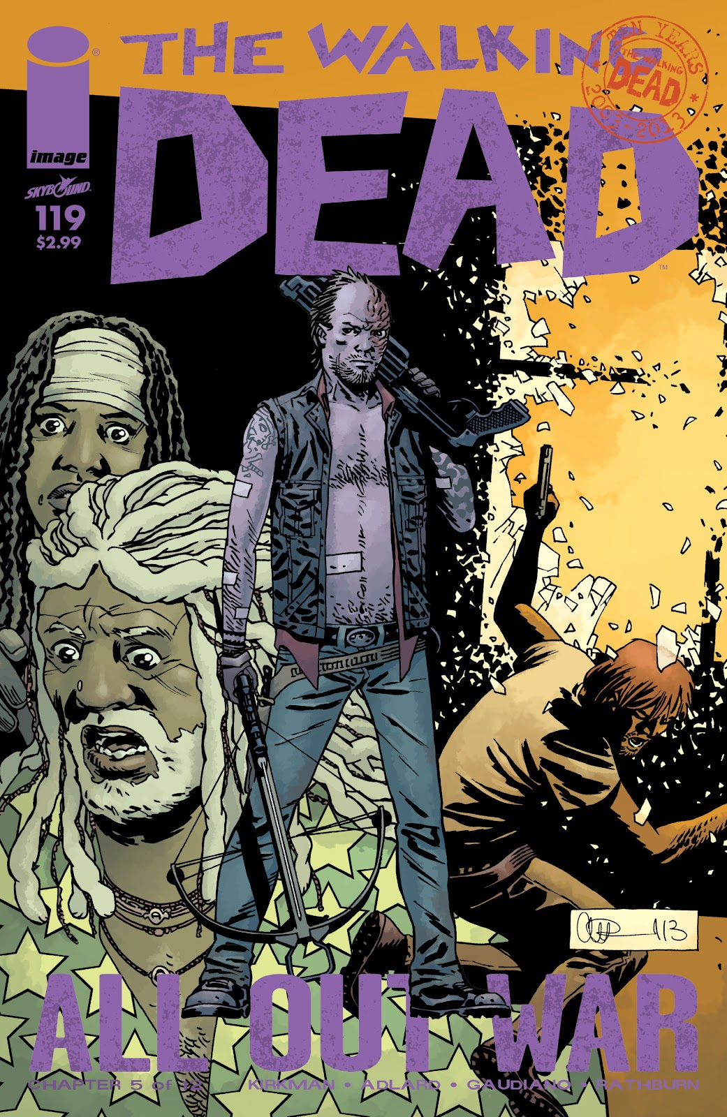 The Walking Dead issue 119 - Page 1
