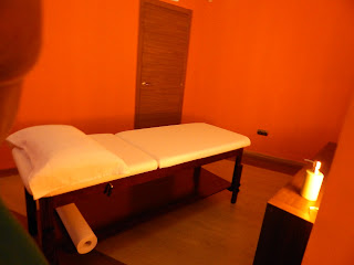 Massage room ideal for golf players hotel Ms Maestranza
