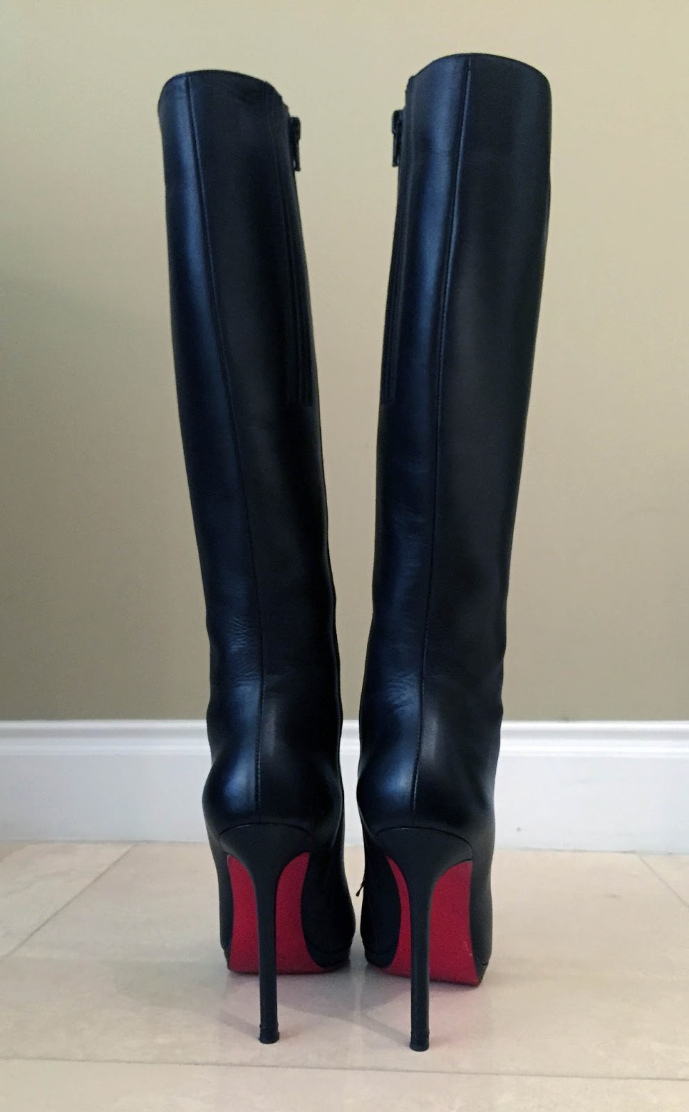 christian louboutin botalili knee-high boots