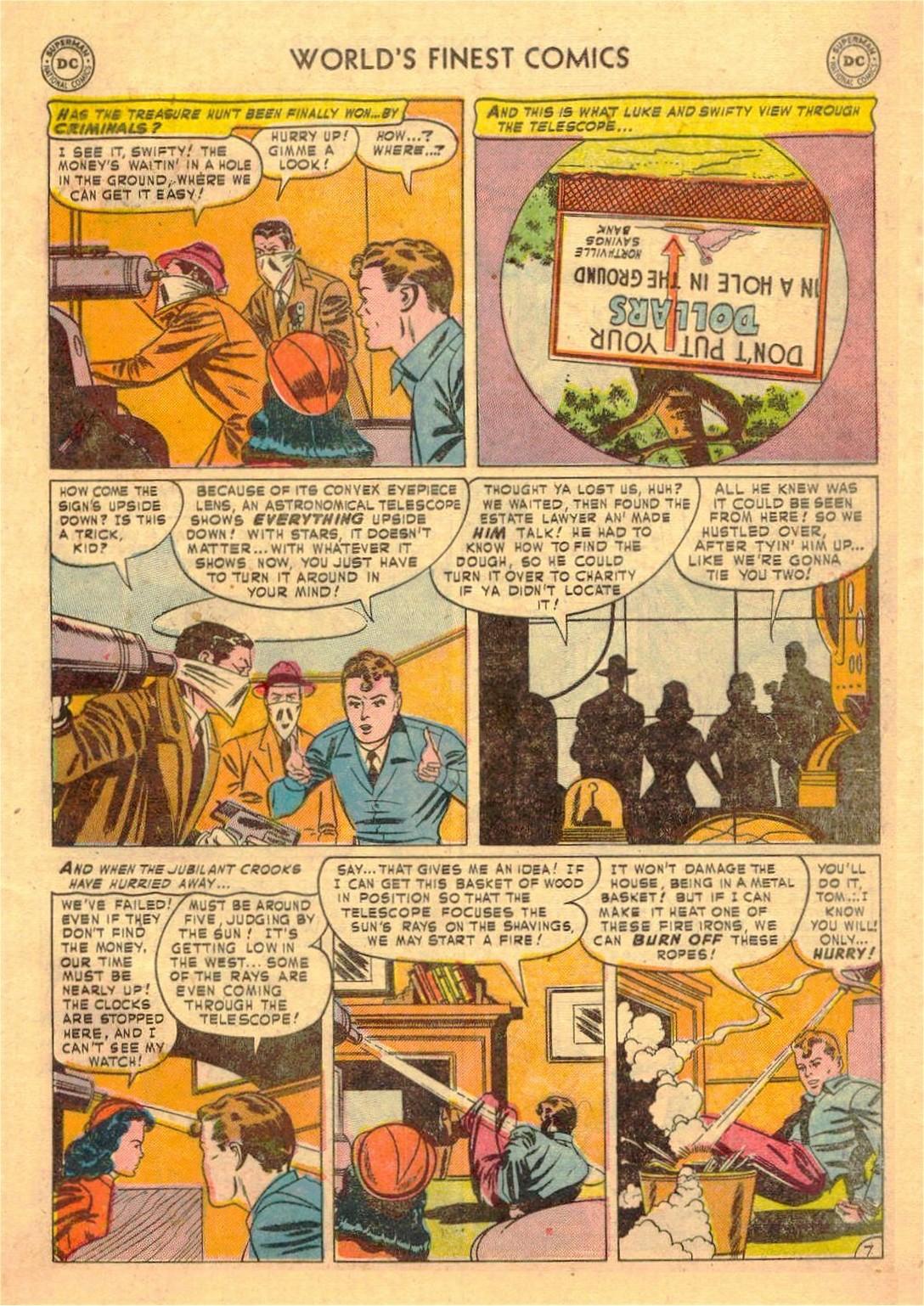 Read online World's Finest Comics comic -  Issue #58 - 47