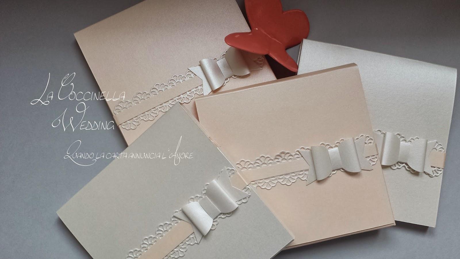 Amato Partecipazione matrimonio Rosa antico e Bianco BK12