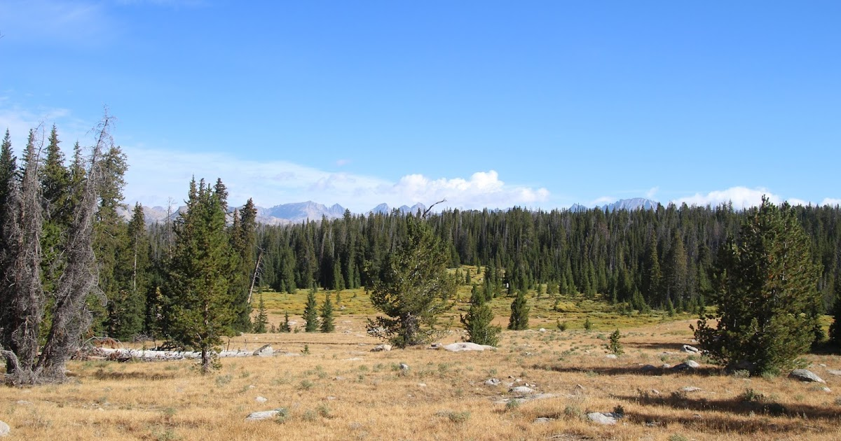 Backpacking the Winds: Titcomb basin