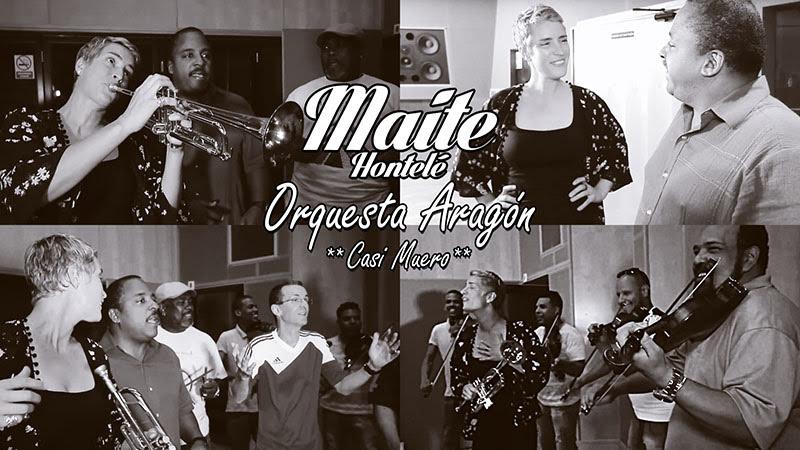 Maite Hontelé y Orquesta Aragón - ¨Casi Muero¨ - Videoclip - Dirección: Vitico y Marlou Van den Berge. Portal Del Vídeo Clip Cubano - 01