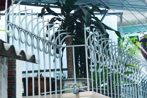 Lắp đặt hàng rào lan can choogns trộm bằng sắt