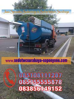 Sedot WC Sambikerep Surabaya Murah