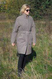 Płaszcz oversize :)