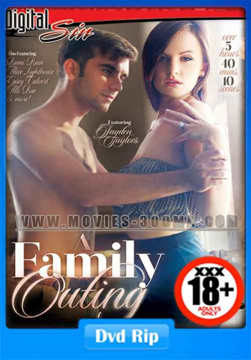[18+] A Family Outing 2016 DVDRip 700MB xXx Poster