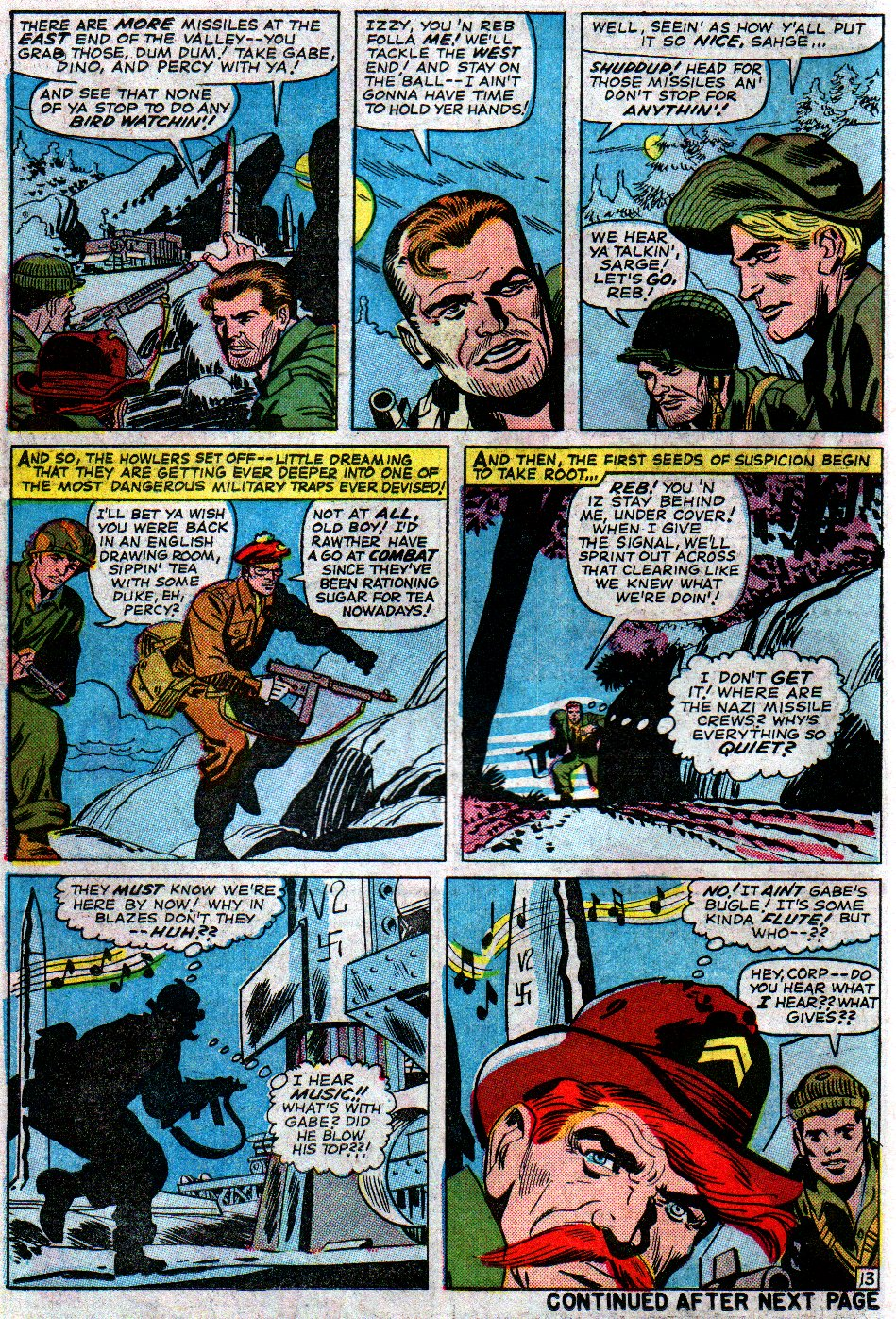 Read online Sgt. Fury comic -  Issue #14 - 18