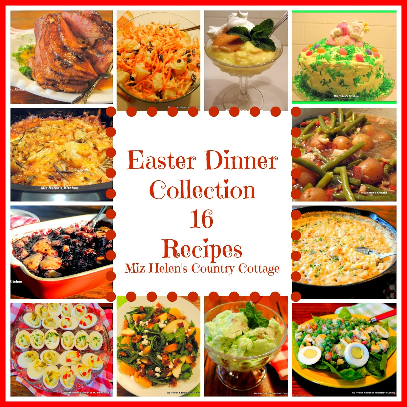 Miz helens country cottage easter dinner recipe collection easter dinner recipe collection forumfinder Gallery