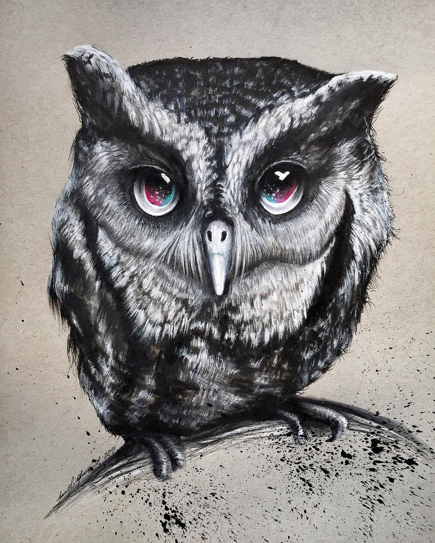 10-Owl-Jonathan-Martinez-Realistic-Pencil-Animal-Drawings-www-designstack-co