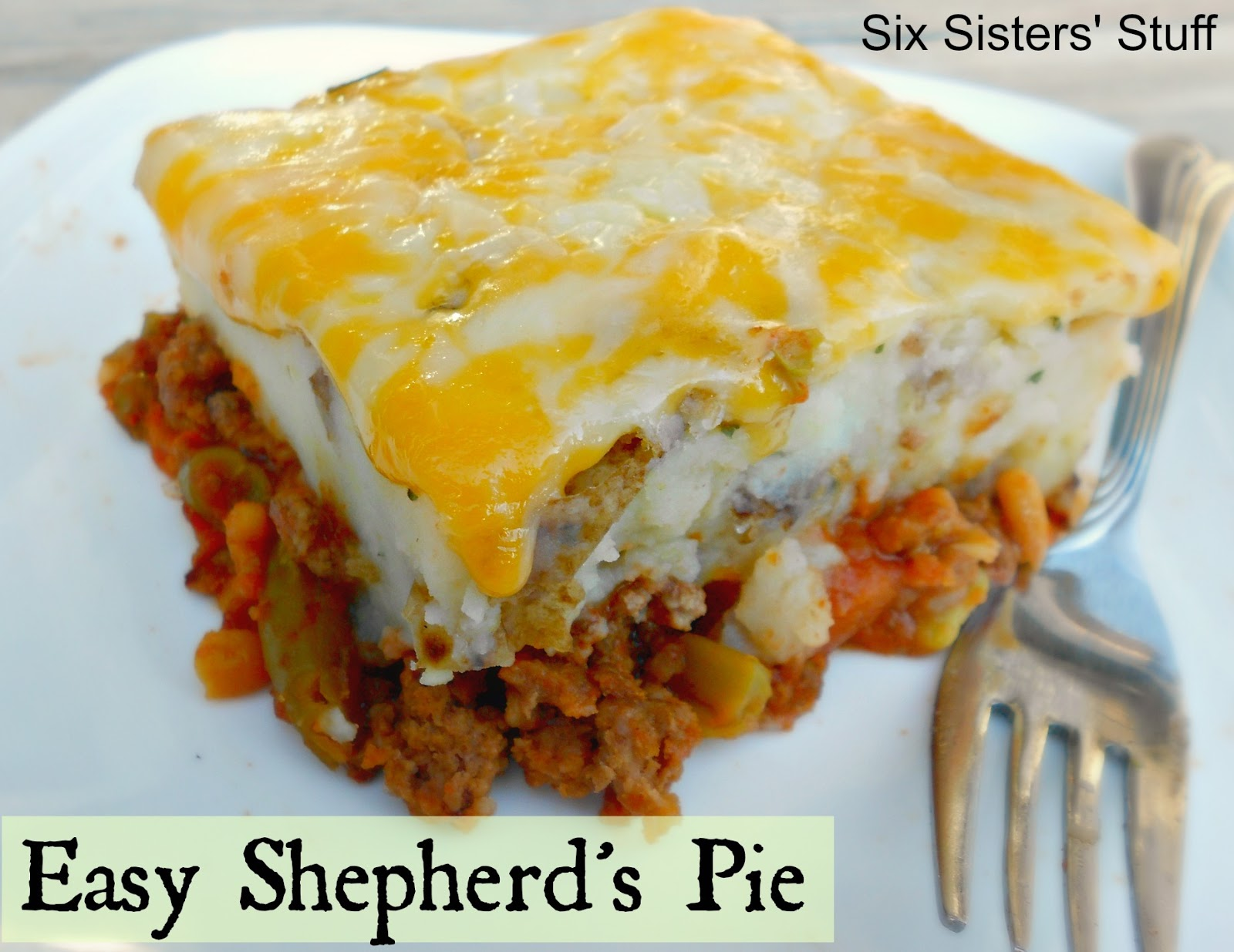 Quick and Easy Shepherd's Pie / Six Sisters' Stuff | Six ...  Quick and Easy ...