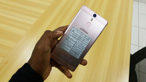 Infinix fingerprint phone