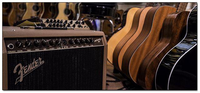 Distintos Amplificadores para Guitarra Acústica