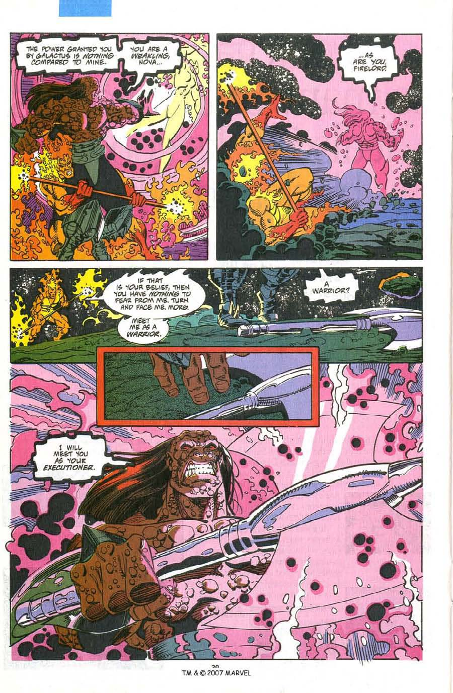 Read online Silver Surfer (1987) comic -  Issue #75 - 22