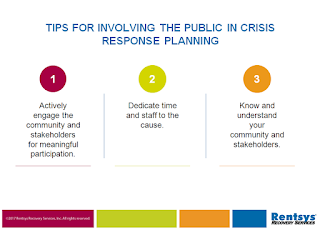 Tips for Involving the Public in Crisis Response Planning