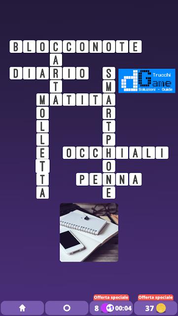 Soluzioni One Clue Crossword livello 20 schemi 11 (Cruciverba illustrato)  | Parole e foto
