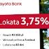 Toyota Bank: Lokata na 3,5% do 49 000 zł oraz do 10% zwrotu za paliwo
