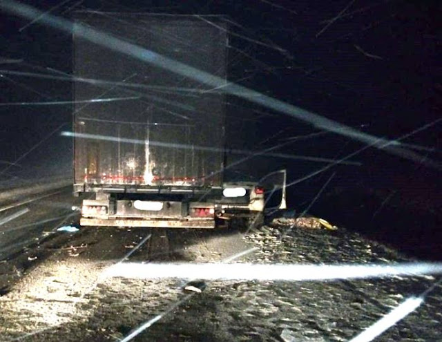 В Башкирии Гранта столкнулась с грузовиками:погиб водитель